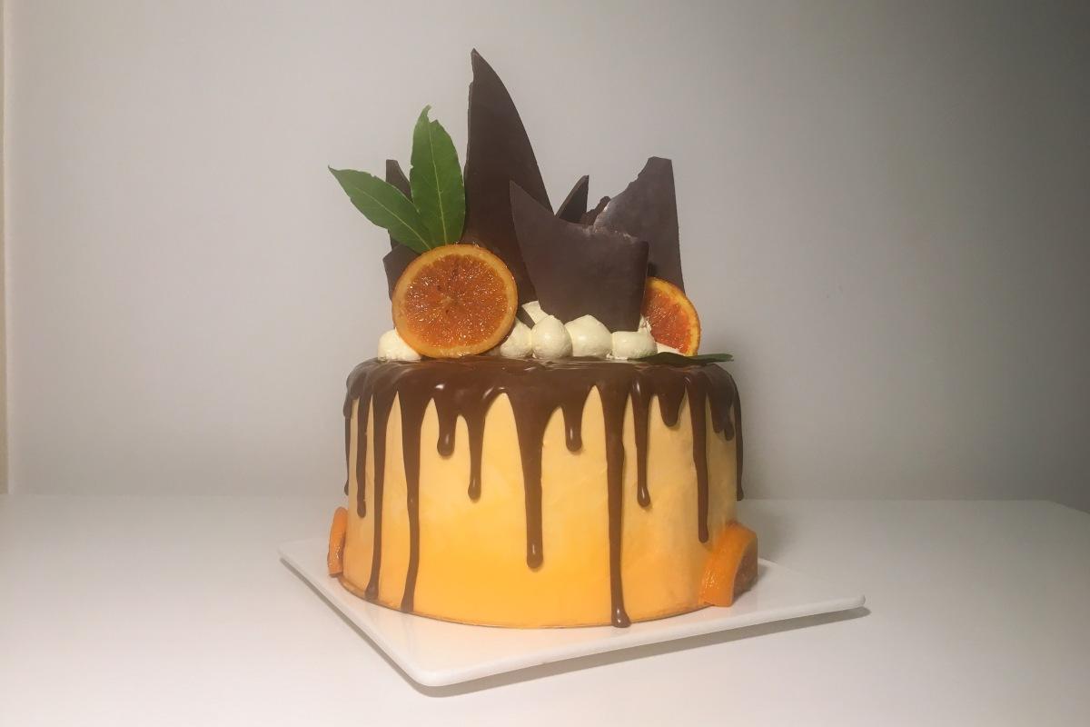 Pleasing Recipe Chocolate Orange Drip Cake Whatever It Bakes Funny Birthday Cards Online Aeocydamsfinfo
